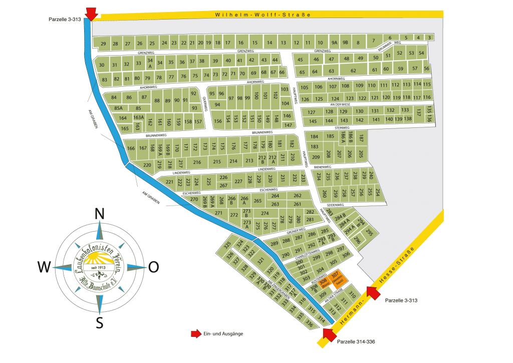 Lageplan LKV Alte Bauzmschule