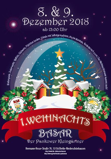 Weihnachtsbasar 2018 in der Alten Baumschule